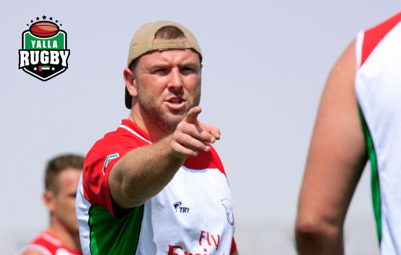 Ben Bolger UAE Rugby Captain