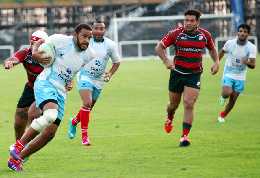 shaheen uae rugby airports international 7s runners up in action