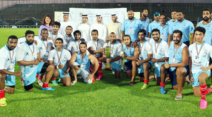 UAE Shaheen come runners up in the rugby Airports International 7s tournement