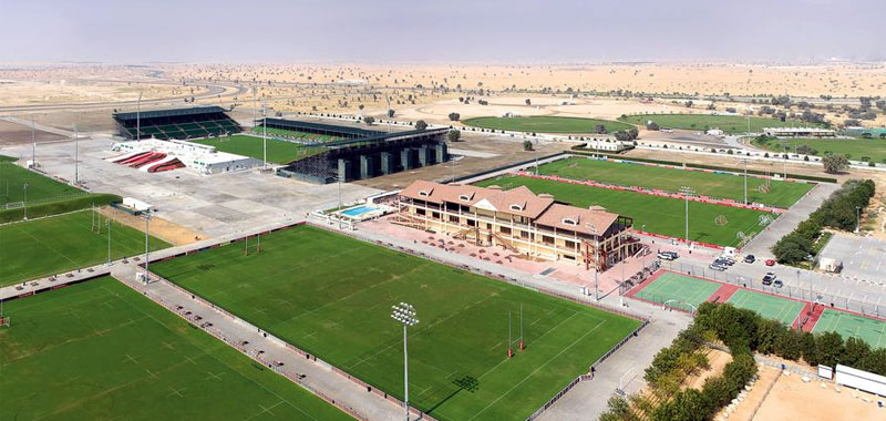 Fixtures held at the Dubai Sevens Rugby Stadium