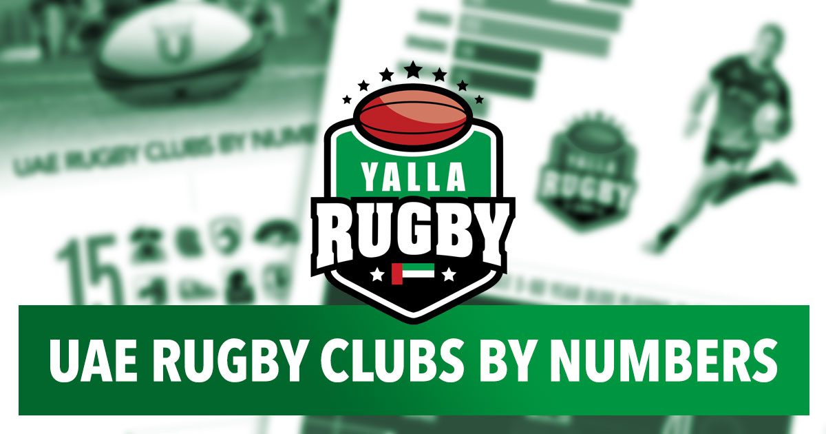 uae rugby clubs infographic 2016 - 2017