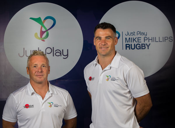 Mike Phillips rugby academy