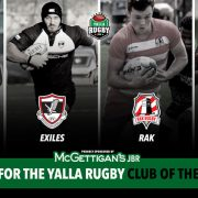 Yalla rugby club of the year 2018