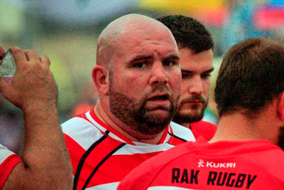 Craig Chapman RAK rugby coach