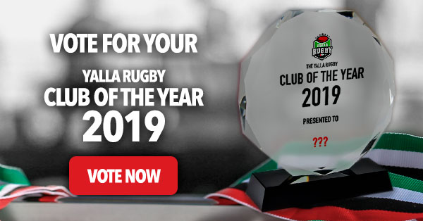 gulf rugby club of the year 2019