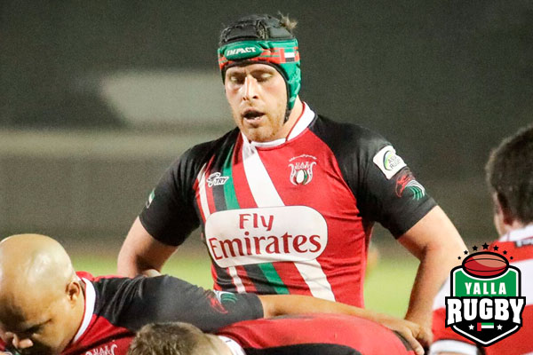 Jaen Botes UAE rugby player