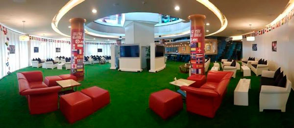 New SportsZone Club House at Meydan, Dubai
