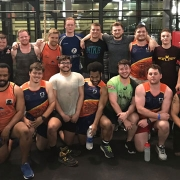 Arabian Knights RFC training at Fitrepublik Dubai