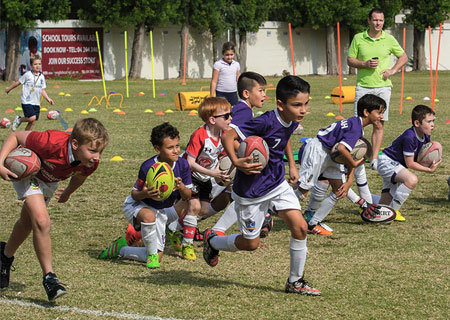 kids rugby camp