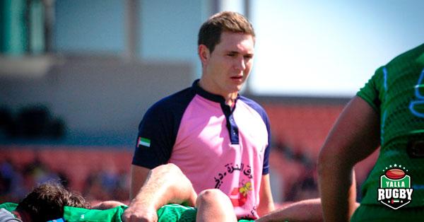 Jaco de Wit - UAE Rugby Referee
