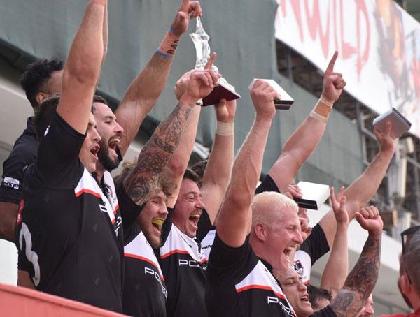 Exiles Dubai rugby sevens gulf mens league champions 2017