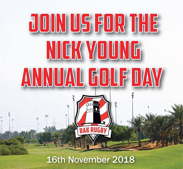 rak rugby nick young annual golf day 2018