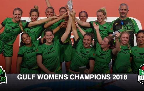 eagles womens rugby dubai 7s champions 2018