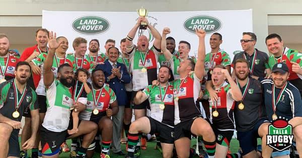 abu dhabi harlequins premiership rugby champions 2018/19