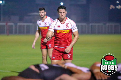 Adam Wallace Bahrain RFC captain