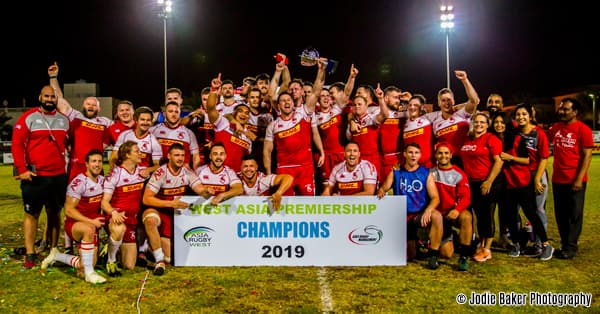 Bahrain RFC West Asia Champions 2018/19