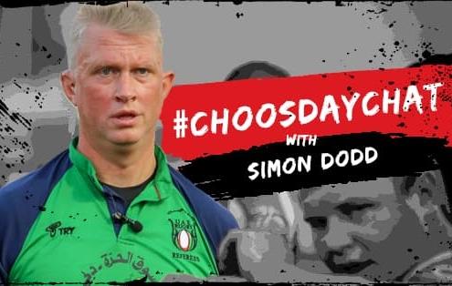 Simon Dodd - UAE Rugby referee
