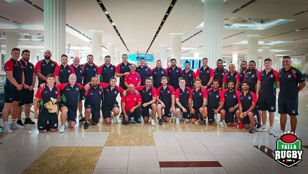UAE National Rugby Team 2019