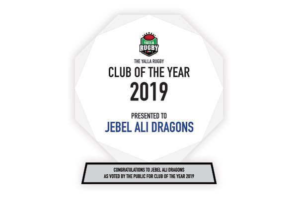 Dragons RFC - 2019 Club of The Year