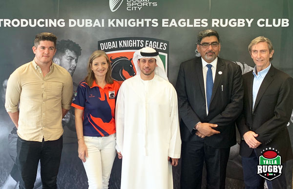 unveiling of the dubai knights eagles rugby club
