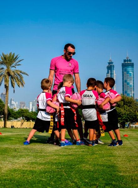 barrelhouse kids rugby academy Dubai
