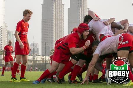 Abu Dhabi Saracens vs Tigers