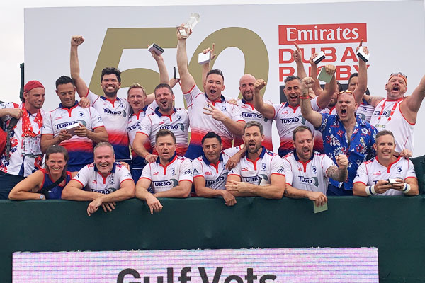 Gulf Vets Trophy Winners 2019