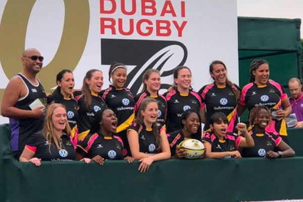 Gulf Women Plate Winners 2019