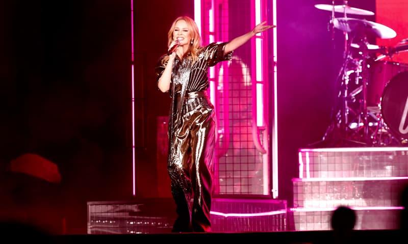 Kylie Minogue Dubai 7s 2019
