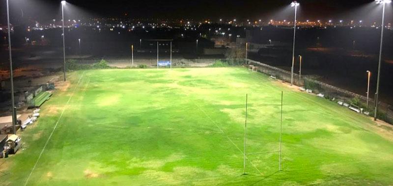 Al Ghazal rugby field - Abu Dhabi, UAE