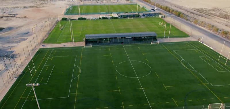 Jebel Ali rugby pitches Dubai