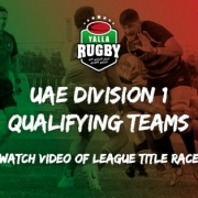 UAE Rugby Division 1 league semi finals 2020