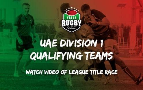 UAE Rugby Division 1 league semi finals 2020