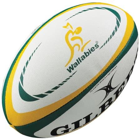Australia International Replica Rugby Ball - Gilbert