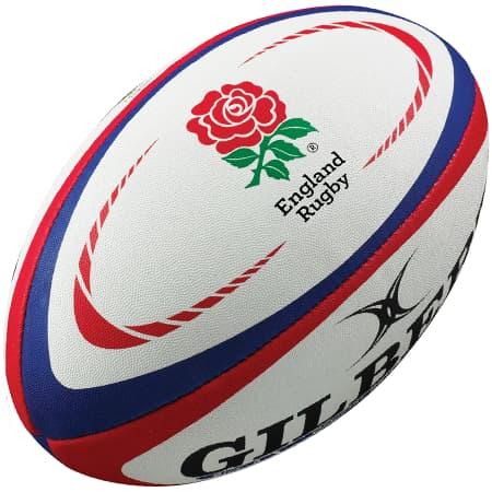 England International Replica Rugby Ball - Gilbert