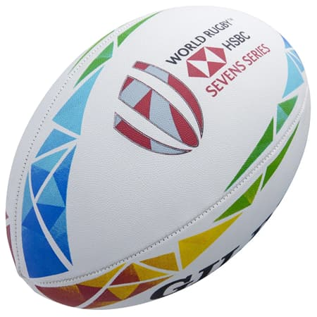 Gilbert HSBC Sevens Series 2020 replica ball