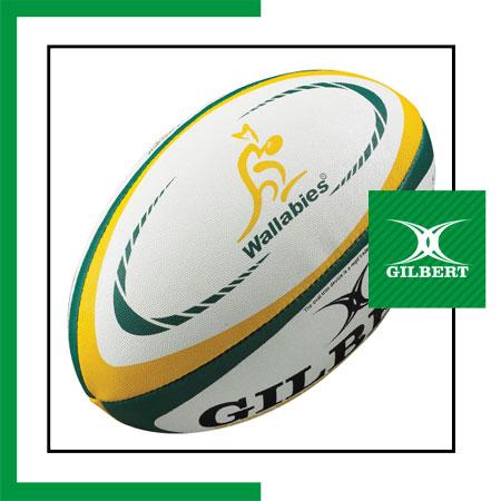 size 5 Gilbert Australia rugby ball Dubai