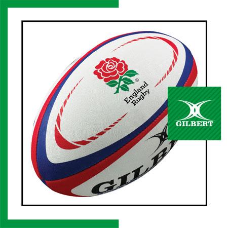 size 5 Gilbert England rugby ball Dubai