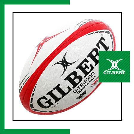 size 5 Gilbert red training rugby ball Dubai
