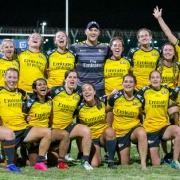 Dubai Hurricanes ladies rugby champions 2019-20