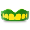 Safe Jawz rugby mouthguard - Green Ogre teeth