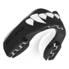 safe jawz rugby mouthguard - Black Fangz Gum Shield Side View