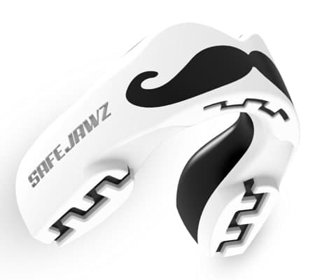 safe jawz rugby mouthguard - Mo Gum Shield Side View