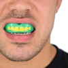 safe jawz rugby mouthguard - Ogre Gum Shield Mouth View