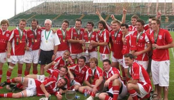 Jim Rowark - Bahrain Gulf Cup Winners 2009