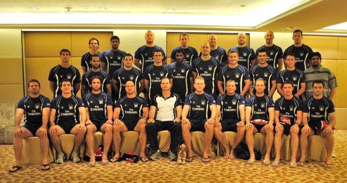 UAE National rugby team 2010-11