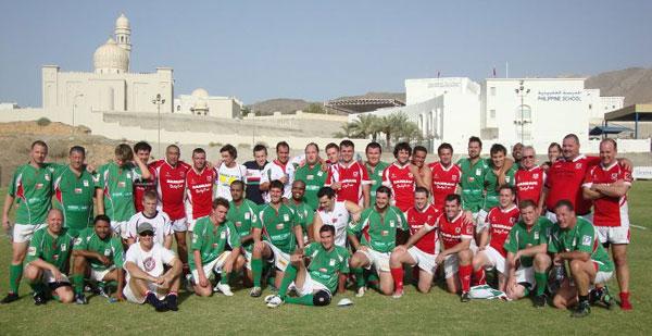 Muscat RFC vs Bahrain RFC - 2011